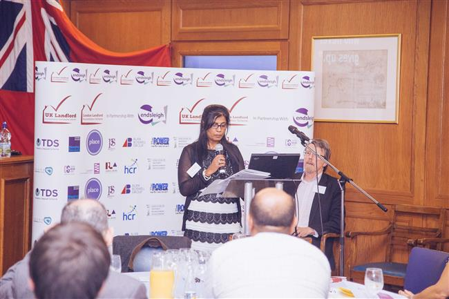Speech by Hashmita Reardon (CEO of Reardon Properties Ltd) Winner of Make a Difference Award 2014