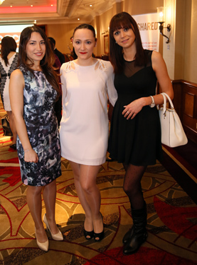 The girls from Athena Lettings Esra Ozkul,Penelope Kalergis and Andrea Tiron