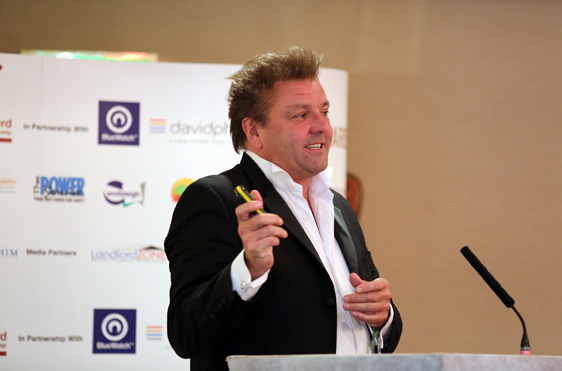 Martin Roberts TV property expert and BBC Presenter keynote speaker