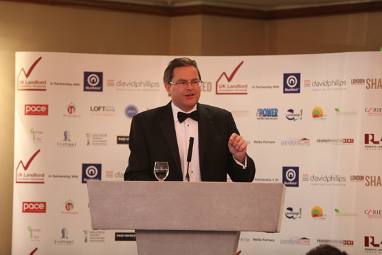 Peter Bolton King, Global Residential Director of RICS, keynote speaker