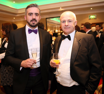Jim Smith from Loft Interiors and Richard Burrows from the valuation office agency